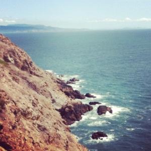 Cliffs at Point Reyes