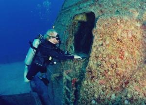 Diver on the Vandenberg